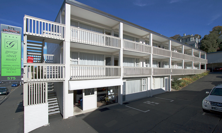 Exterior view | George Street Motel Apartments